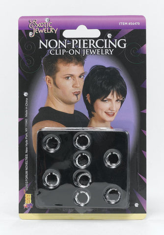 Clip-on Body Piercing Jewellery