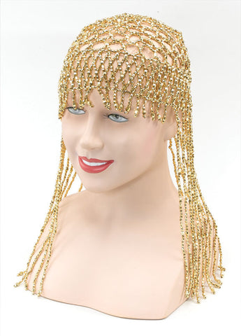 Gold Bead Headpiece