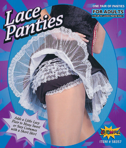 French Maid Frilly Panties