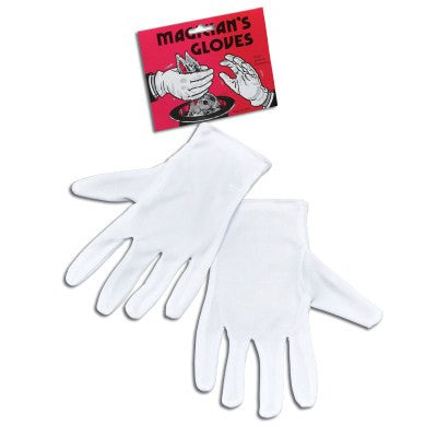 White  Wrist Gloves