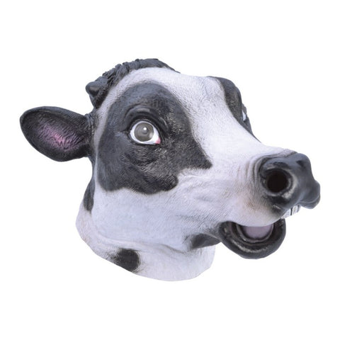 Deluxe Overhead Cow Mask