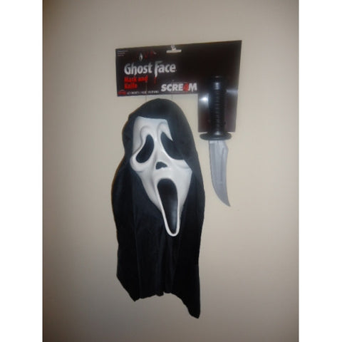 Ghost Face Mask & knife