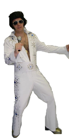 Elvis-White; Rental Includes Deposit&Delivery