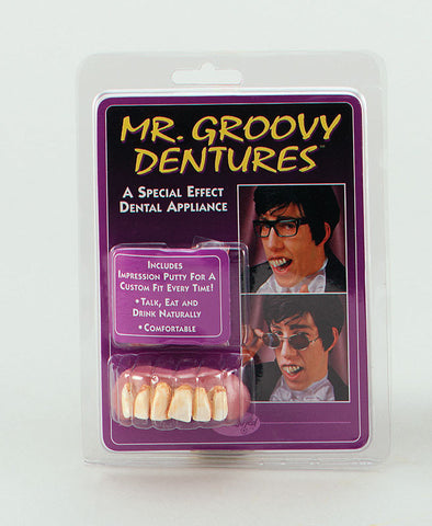 Mr Groovy Dentures