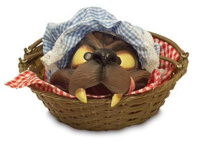 Wolf's Head In Basket
