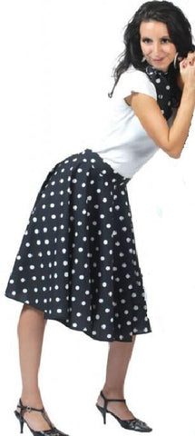 Rock n Roll Skirt Black(Including Layered Petticoat)