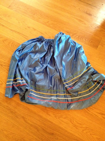 Blue rock n roll skirt ex rental