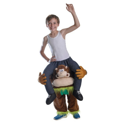 Monkey Piggy-Back Child
