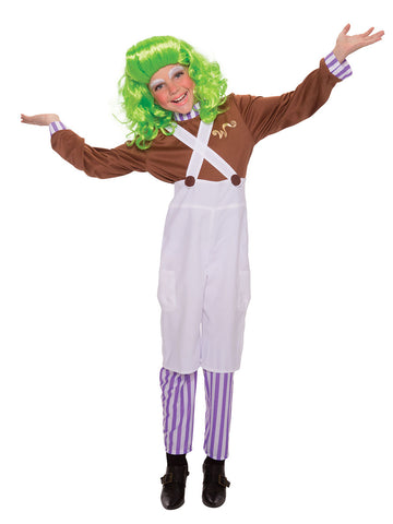Chocolate Factory Worker Child&Wig