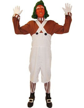 Oompa Loompa w/Wig&Face paint