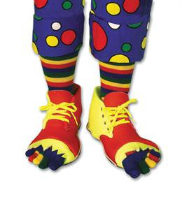 Clown Shoe & Toe Sock Set