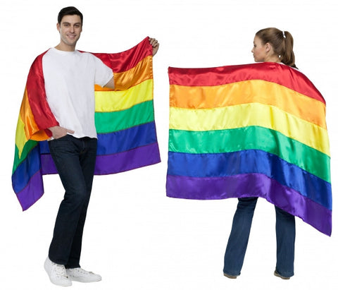Pride Rainbow Cape