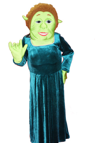 Green Ogre Princess ; Rental Includes Deposit