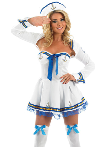 Flirty Sailor Girl