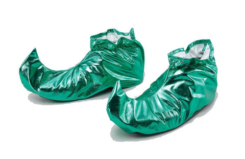 Elf / Jester Shoes-Green