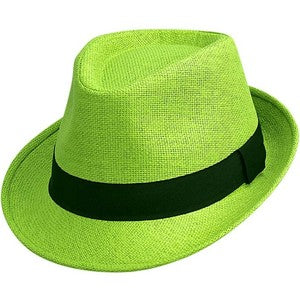 Lime Green Fedora Costume €9.50 – CostumeCorner.ie 37ff989d4a8