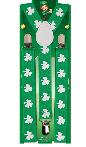 Irish St Patricks Braces