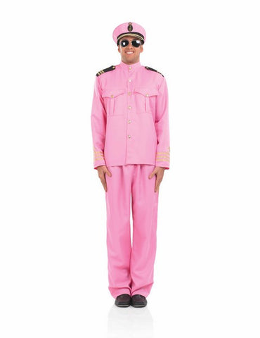 Pink Navy Officer