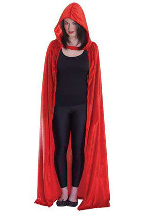 Red  Hooded Cloak