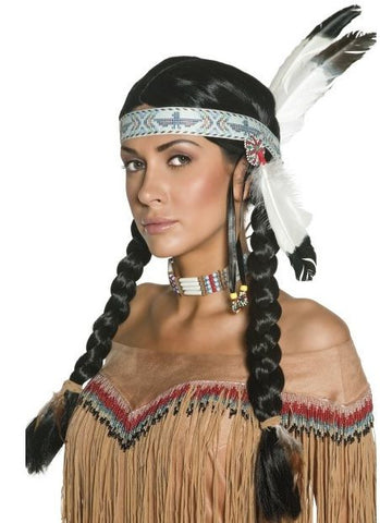 Native Indian wig Unisex