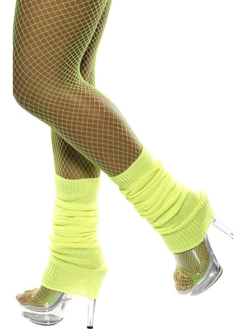 Leg Warmers-Neon Yellow