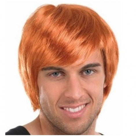 Boy Band Ginger Wig