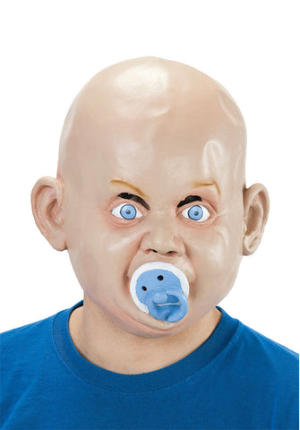 Angry Baby Mask w/Soother