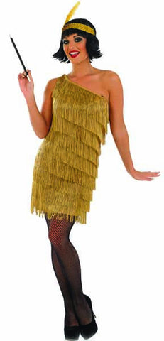 Gold Tassle Flapper