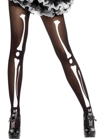 Skeleton Stockings Tights