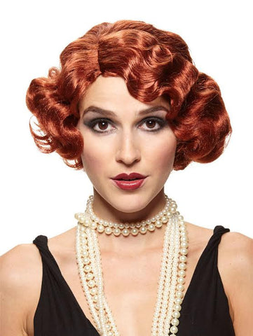 Red Gatsby Wig