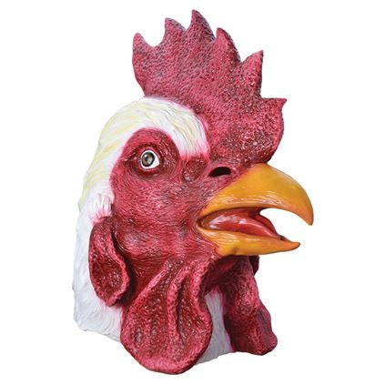 Deluxe Overhead Rooster Mask