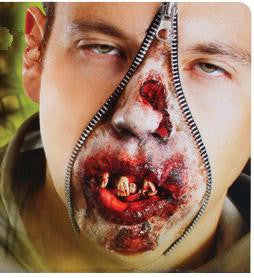 Zombie Zipper FX Make-Up Kit