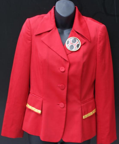 80s Jacket-Red