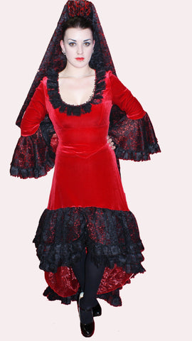 Spanish Dress ; Rental Includes Deposit&Delivery