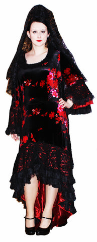 Spanish Dress Plus Size ; Rental Includes Deposit&Delivery