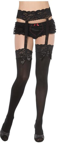 Stockings With Garter