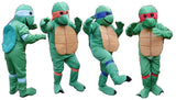 Teenager Turtles Set Of 4 ; ExRental