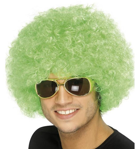 Funky Green Afro
