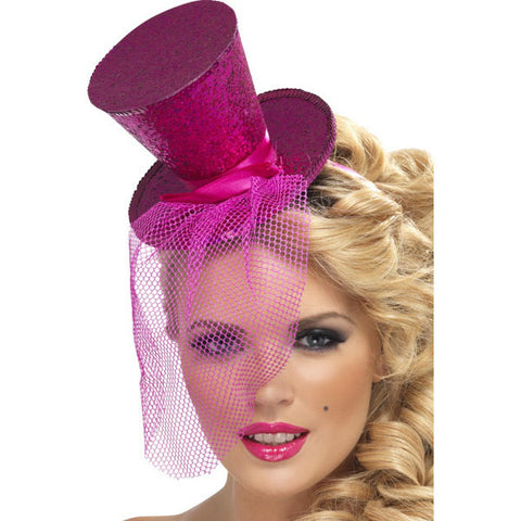 Mini Top Hat-Pink