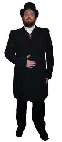 Victorian Frock Coat ; Rental Includes Deposit&Delivery