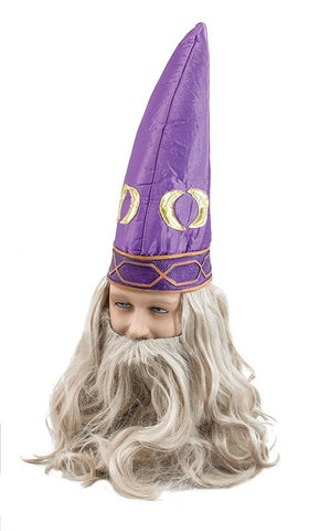 Wizard Hat & Beard