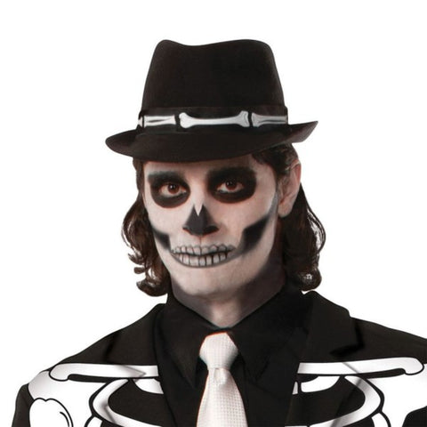 Skeleton Fedora Hat