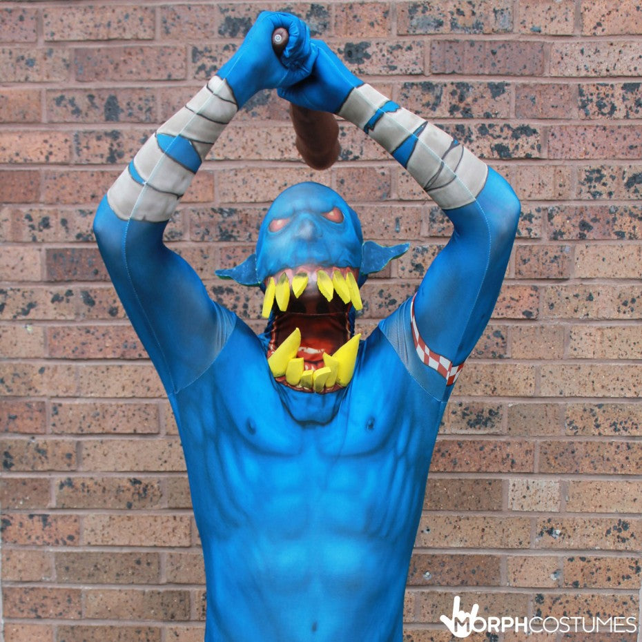 3e4813b2f Orc Jaw Dropper Morphsuit Costume