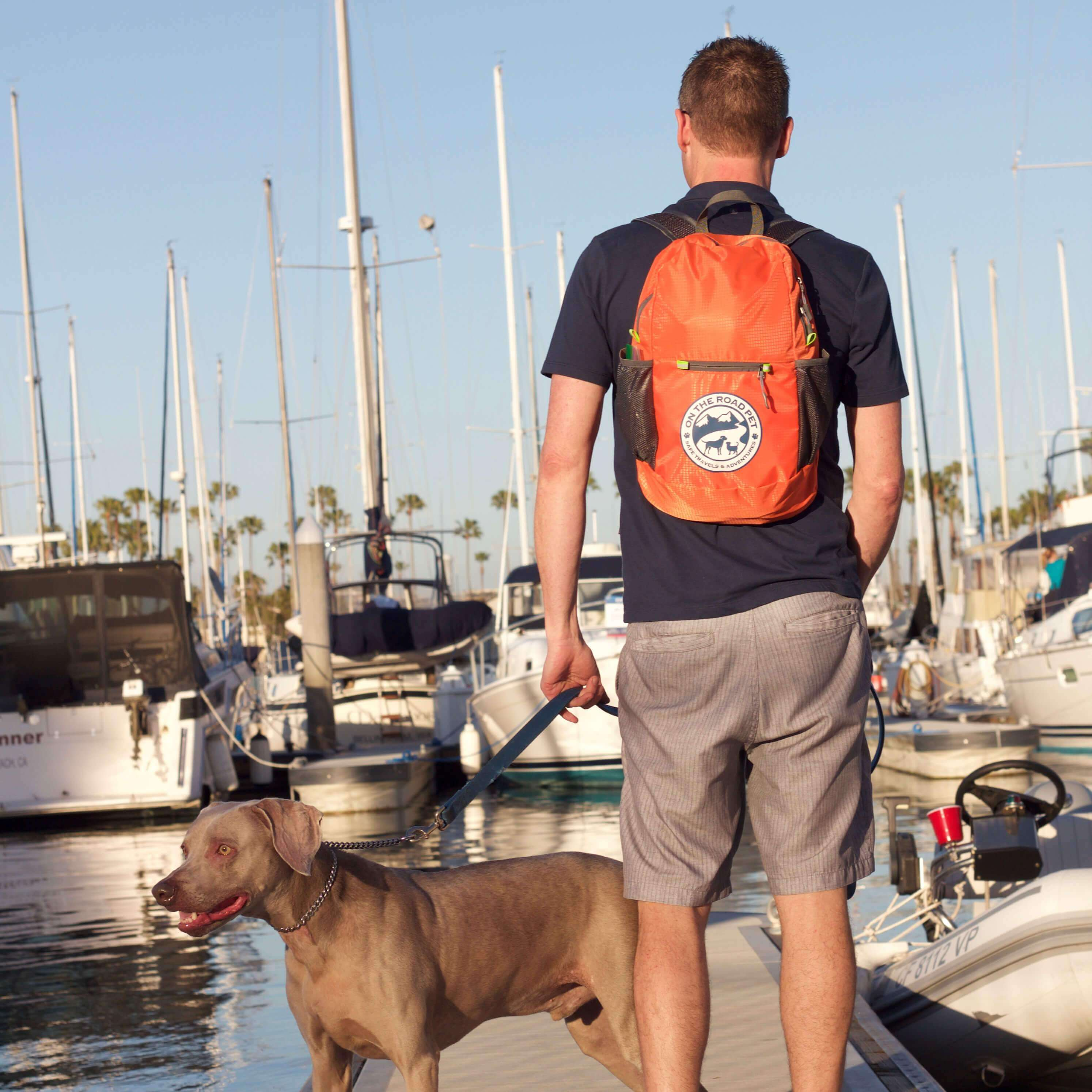 Boating With Dog On The Road Pet Day Bag Emergency and Travel