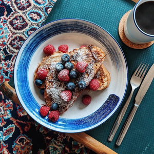 Coconut French Toast with Berries