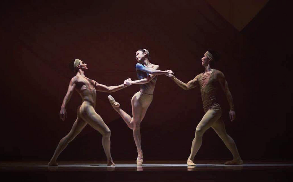 Koto Ishihara performing on stage with San Francisco Ballet