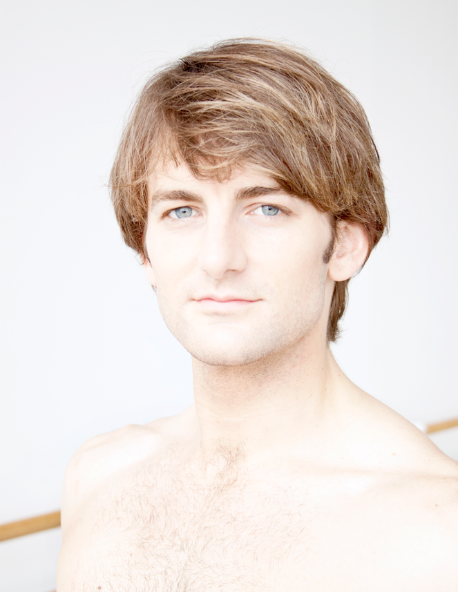 Portrait of Aaron Robison, Principal Dancer with San Francisco Ballet