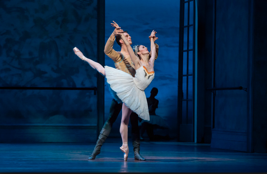 Dylan Gutierrez performing with Joffrey Ballet
