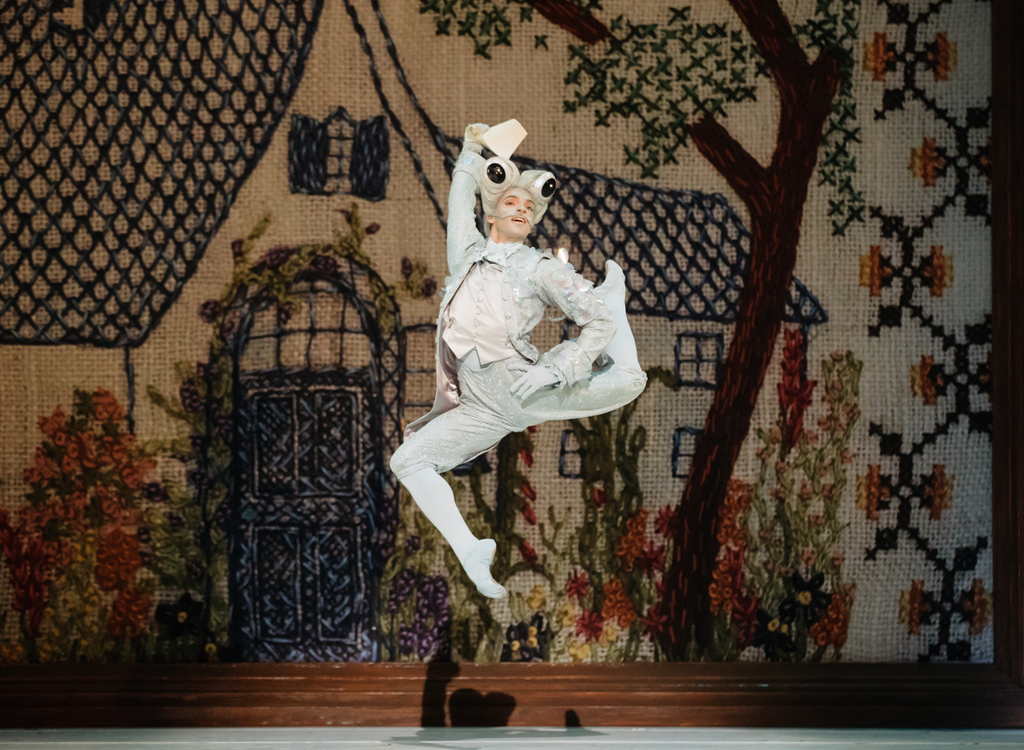 "Photo Credit: Daniel Bound, The Australian Ballet ""Alice's Adventures in Wonderland"" performing the role of Fish by Christopher Wheeldon"