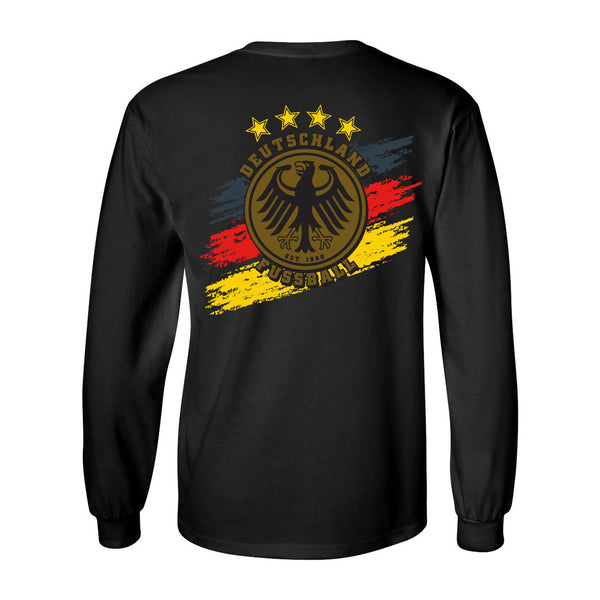Germany Long-Sleeve Soccer T-Shirt